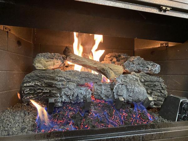 "Picture of 18"" Carolina Bonfire - Natural Gas"