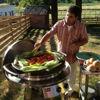 EVO Wheeled Cart Grill Residential Liquid Propane Lifestyle