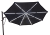 Starlux 13' Cantilever Hexagonal Plus with Starlight Ambiance Lighting Tilted