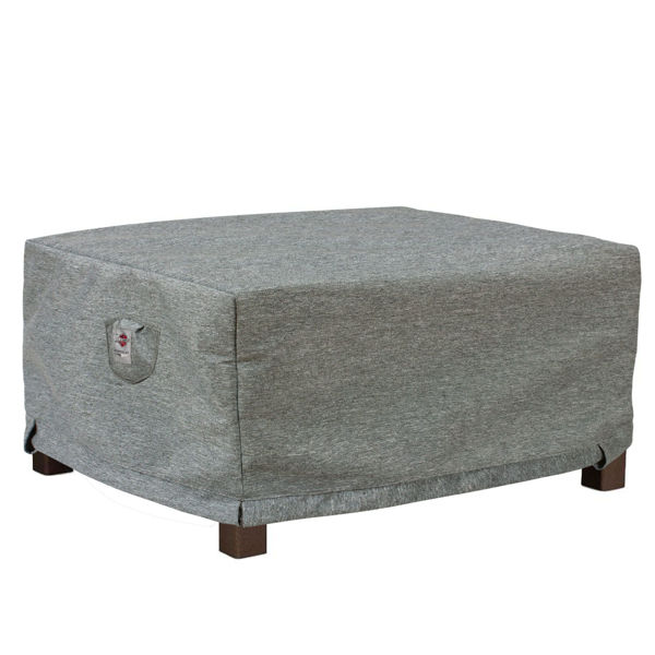 Large Outdoor Ottoman Cover