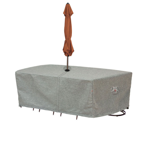 Cover for XL Oval or Rectangle Table and Chairs