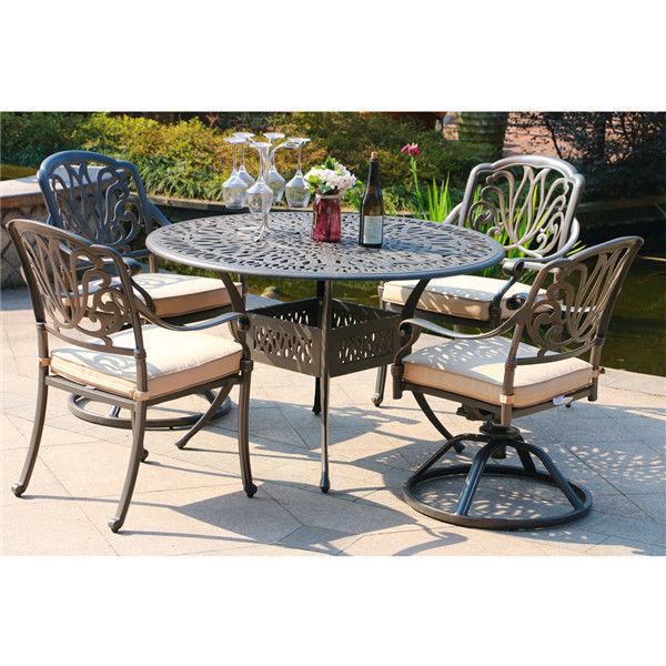 "Salem 48"" round dining table set"