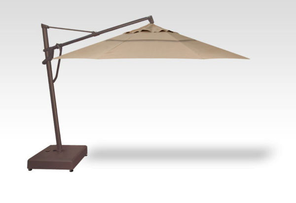 11' Cantilever AKZP Plus Bronze Frame, Sand Fabric