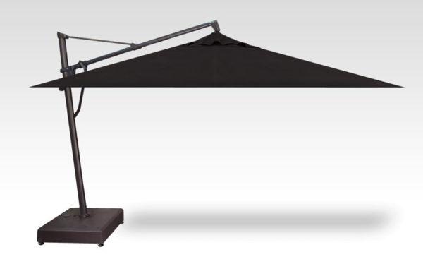 AKZ Plus Cantilever Rectangle, Black Frame Black Canopy