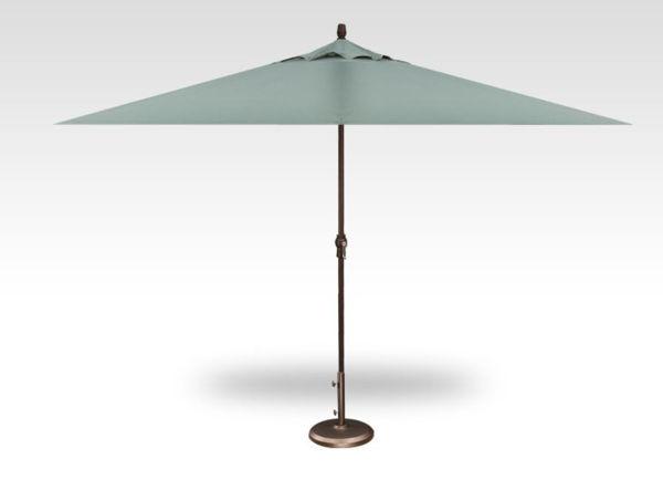 8x11 rectangle patio umbrella, bronze frame, spa canopy