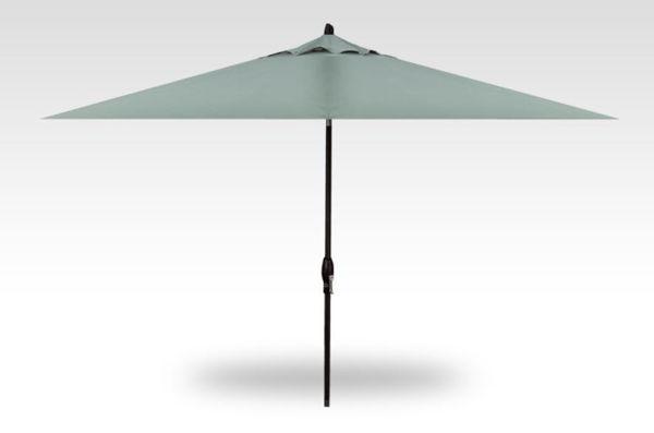8x10 rectangle auto-tilt patio umbrella, black frame, spa canopy
