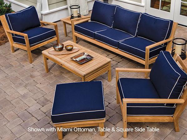 Royal Teak Coastal Collection, Sofa, Loveseat, Lounge Chair