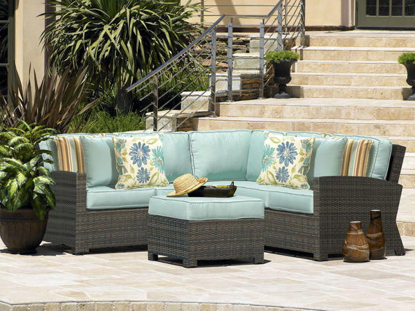 North Cape Cabo Sectional Collection, Left-Arm Loveseat, Right-Arm Loveseat, Middle Chair