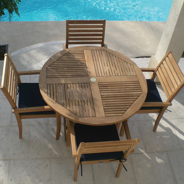 Avant Teak 5 Piece Dining Set
