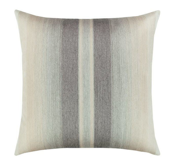 "Elaine Smith Outdoor Pillow - 12""x20"" Ombre Grigio"