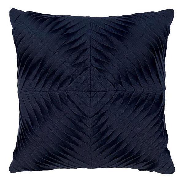 "Elaine Smith Outdoor Pillow - 20""x20"" Dimension Navy"