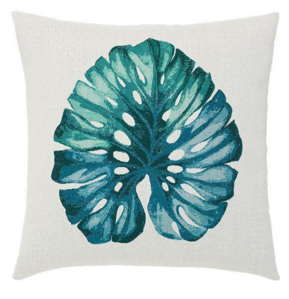 """Elaine Smith Outdoor Pillow - 20""""x20"""" Leaf Lagoon"""