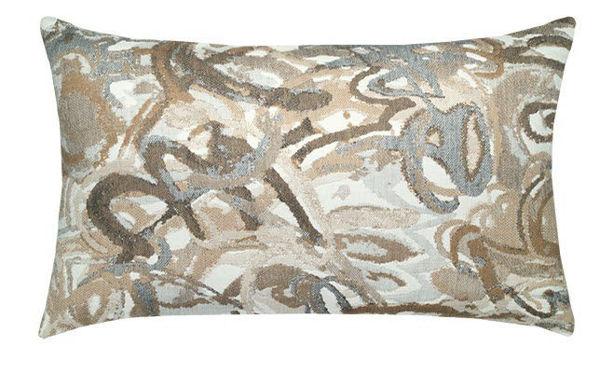 """Elaine Smith Outdoor Pillow - 12""""x20"""" Urban Graffiti Lumbar"""