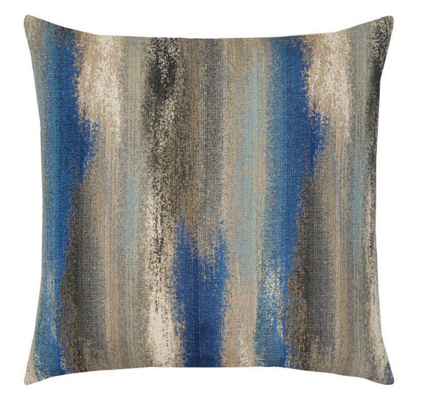 "Elaine Smith Outdoor Pillow - 20""x20"" Painterly Mediterranean"