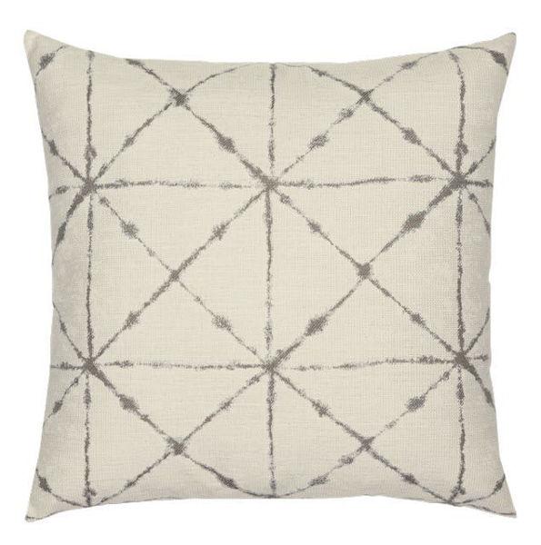 "Elaine Smith Outdoor Pillow - 20""x20"" Trilogy Taupe"