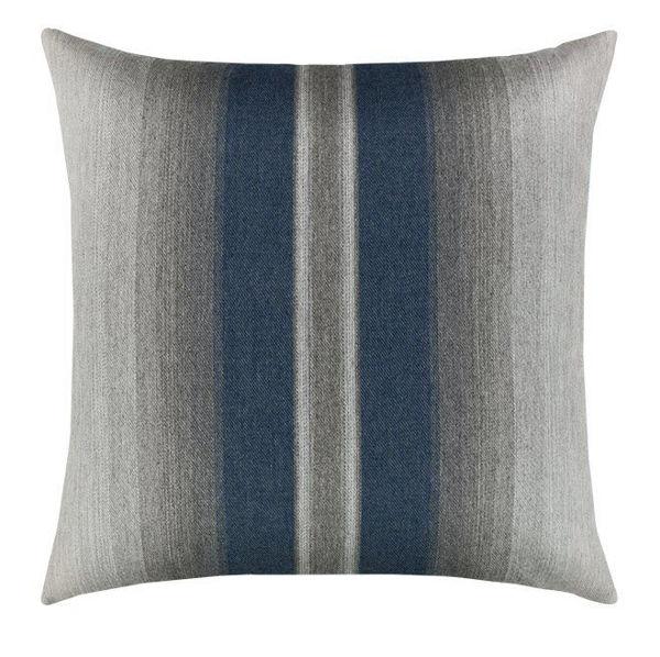 """Elaine Smith Outdoor Pillow - 20""""x20"""" Ombre Indigo"""
