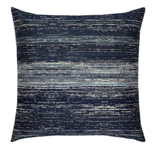 "Elaine Smith Outdoor Pillow - 20""x20"" Textured Indigo"
