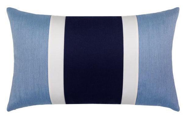 "Elaine Smith Outdoor Pillow - 12""x20"" Nevis Lumbar"