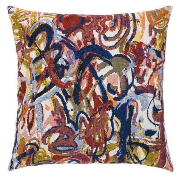 """Elaine Smith Outdoor Pillow - 20""""x20"""" Graffiti"""