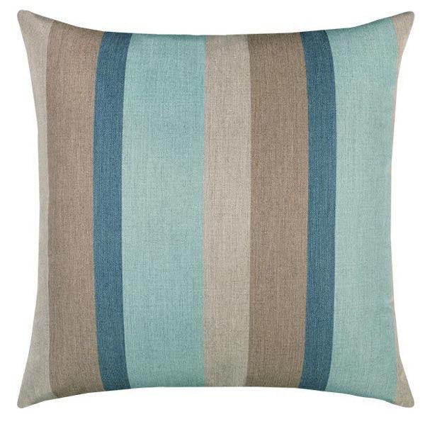 """Elaine Smith Outdoor Pillow - 20""""x20"""" Color Block Lagoon"""