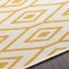 Surya Eagean Cream Saffron Outdoor Rug Edge