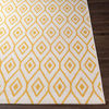 Surya Eagean Cream Saffron Outdoor Rug Corner