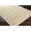 Surya Eagean Cream Saffron Outdoor Rug Angle