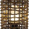 Surya Kio Woven Outdoor Lamp Detail Body