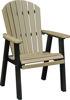 Berlin Gardens Comfo Back Dining Chair Aruba Blue on White