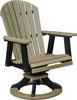 Berlin Gardens Comfo Back Swivel Rocker Dining Chair
