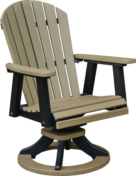 Picture of Comfo Back Swivel Rocker Dining Chair