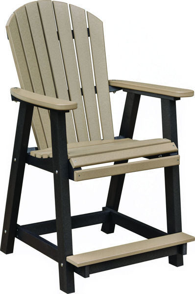 Berlin Gardens Comfo Back Counter Chair