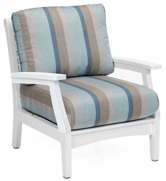 Berlin Gardens Classic Terrace Club Chair, White