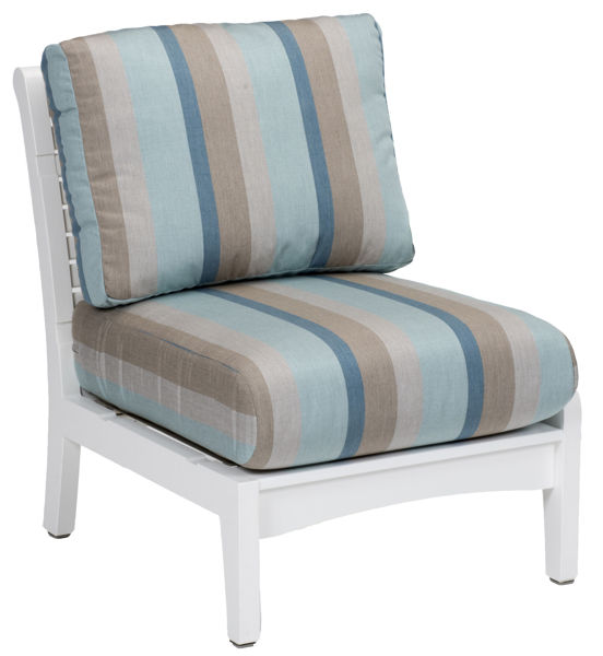 Berlin Gardens Classic Terrace Center Armless Chair