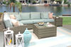 Cabo Sectional Collection Outdoor Seating, Oyster