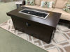 """Plank and Hide Standard 50"""" x 26"""" Rectangular Gas Fire Pit Off"""