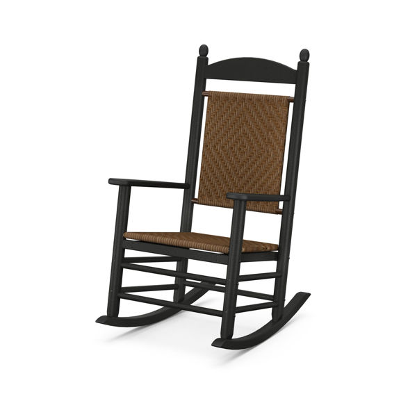 Picture of Polywood Jefferson Woven Rocking Chair