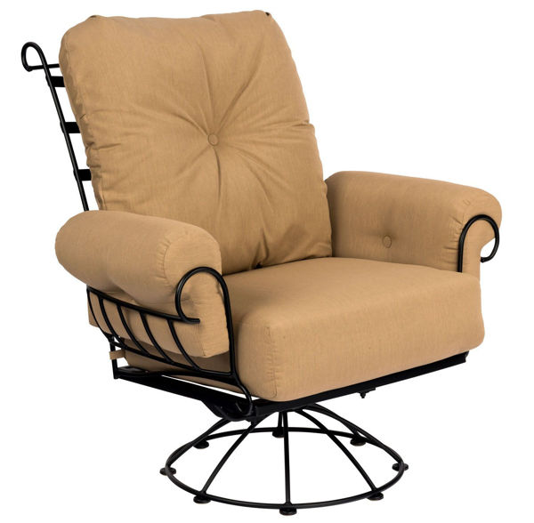Woodard Terrace Swivel Rocking Lounge Chair