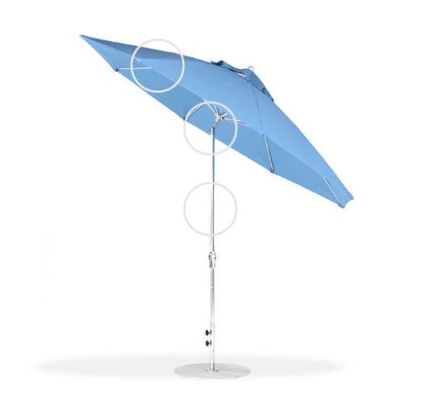 Frankford Monterey 9' Auto Tilt Umbrella