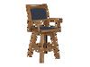 Topaz Swivel High Dining Chair