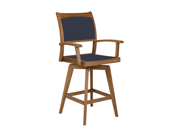Picture of Topaz Swivel High Dining Chair