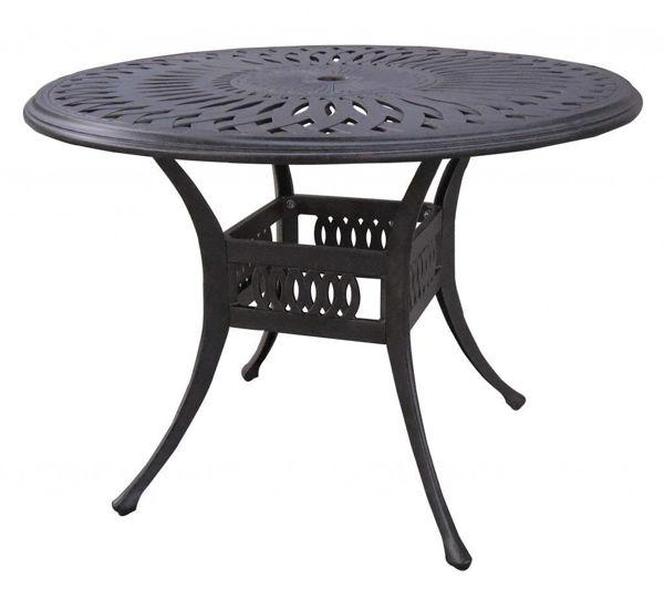 "Gathercraft Salem 48"" Round Dining Table"